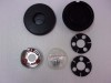 4 SPOKE NK4 STEERING WHEEL HORN CAP RETAINER AND CAP